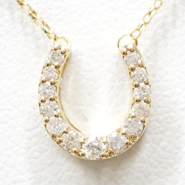 K18 18金 YG イエローゴールド ネックレス ダイヤ 0 20 ジュエリー送料無料新品同様ギフトラッピング無料xordCBe