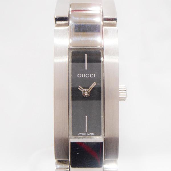 鐘表古馳GUCCI 4600L釣樟屬盤石英女士手錶 ★★