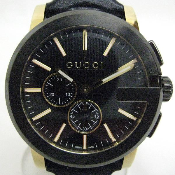 0cea2a8e594  Brand  Gucci  Product name  G Chrono 101.2  Model  YA101203  Movement   quartz. Material  stainless steel   leather. Size  case width (not  including the ...