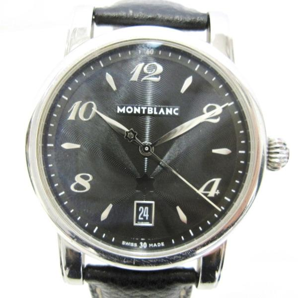 9210e8599a0 [Brand] Mont-Blanc StarDate [product name] [Model number: 7189 [Serial]  PL872 * * * [Movement: quartz [Material] SS Size: case width (not including  the ...