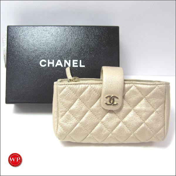 Chanel Quilting Lambskin Small Clutch Bag
