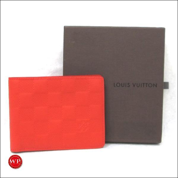 ルイヴィトン Louis Vuitton アンフィニ 二つ折り札入れN63162 財布 ★送料無料★【中古】【あす楽】