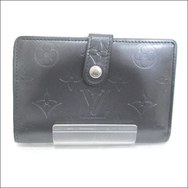 ルイヴィトン Louis Vuitton モノグラムマット がま口二つ折り財布M65152 ★送料無料★【中古】【あす楽】