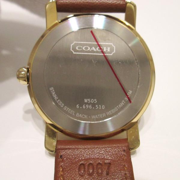 鐘表教練COACH W505人手錶石英未使用 ★★