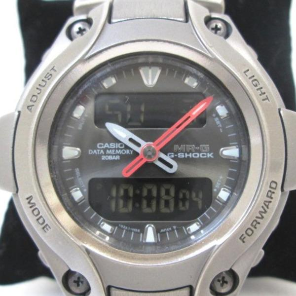 cc95ce6d5fd  Brand  CASIO  Product name  G-shock  Model  MRG-130T  Serial  705221   Movement  quartz. Material  Titanium Size  case width (not including the  Crown) x ...