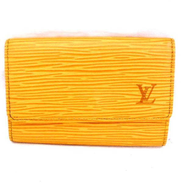 ルイヴィトン Louis Vuitton エピ ミュルティクレ6 M63819 小物 ★送料無料★【中古】【あす楽】