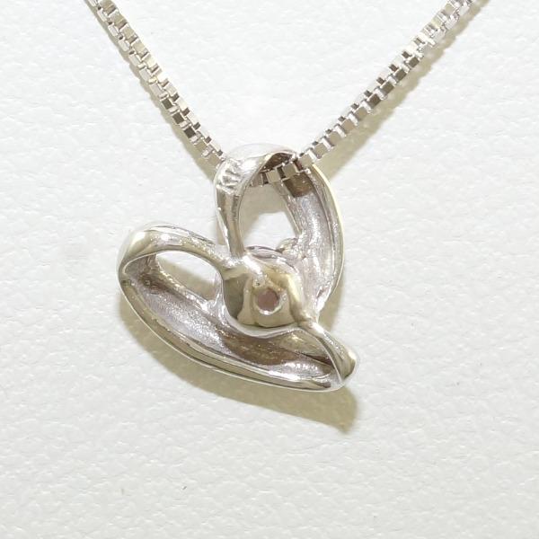 K14 14錢WG白色合金項鏈天然石頭中古珠寶 ★★