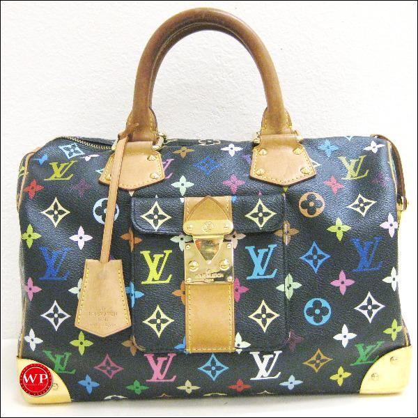 ルイヴィトン Louis Vuitton マルチカラー スピーディ30 M92642 バッグ ★送料無料★【中古】【あす楽】