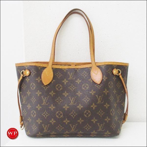 ルイヴィトン Louis Vuitton モノグラム ネヴァーフルPM M40155 バッグ ★送料無料★【中古】【あす楽】
