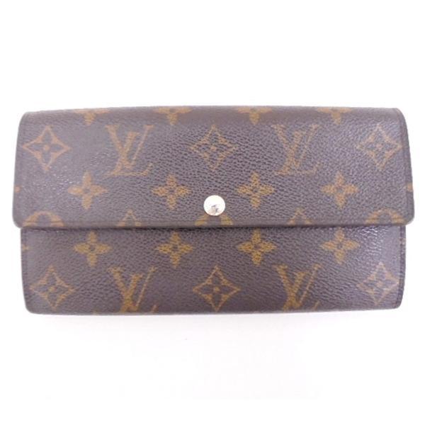 ルイヴィトン Louis Vuitton モノグラム ポルトフォイユサラ 財布 ★送料無料★【中古】【あす楽】