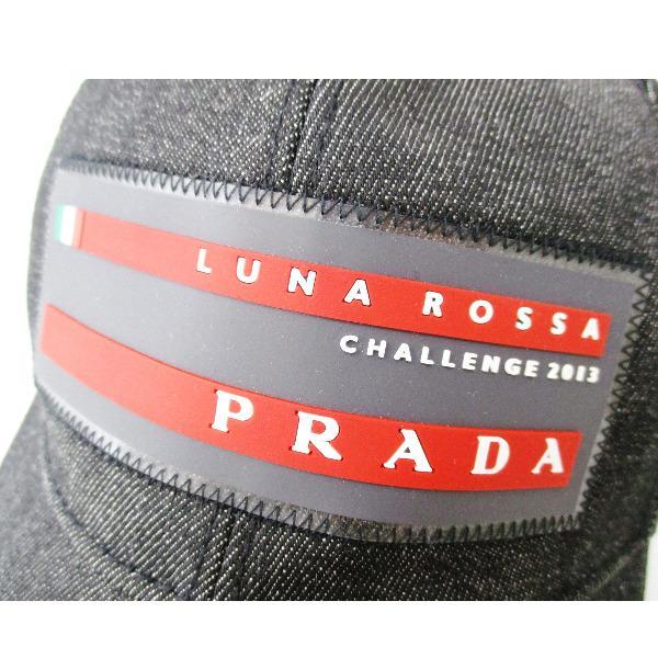 c176e281 Wonder Price: Prada PRADA sports black denim Cap S accessories ...