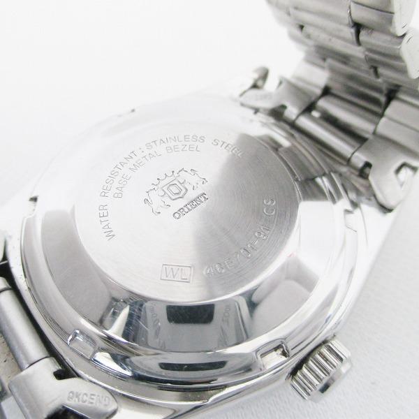 鐘表東方日日期46E701-91人自動卷藍色表盤SS ★★