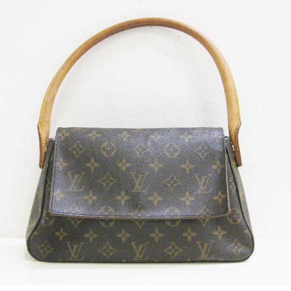ルイヴィトン Louis Vuitton モノグラム M51147 ミニルーピング バッグ ★送料無料★【中古】【あす楽】
