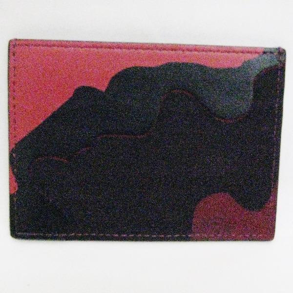 VALENTINO ヴァレンティノ レザー カードケース 小物 ★送料無料★【中古】【あす楽】
