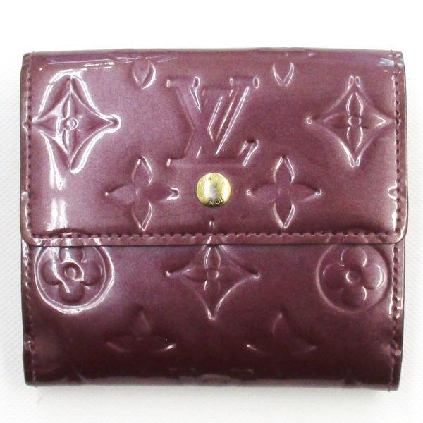 ルイヴィトン Louis Vuitton ヴェルニ Wホック財布 M93576 ヴィオレット ★送料無料★【中古】【あす楽】