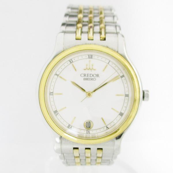 時計 SEIKO セイコー クレドール コンビ9572-6000 メンズ 腕時計 ★送料無料★【中古】【あす楽】