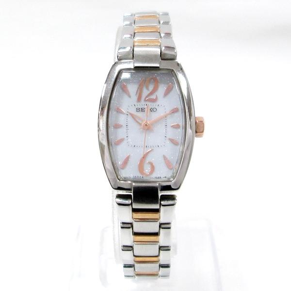 時計 セイコー ティセ V111-0BV0 レディース ソーラー ★送料無料★【中古】【あす楽】