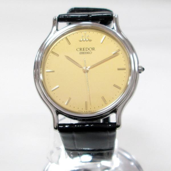 時計 セイコー クレドール 8J81-6A30 メンズ クォーツ 未使用 ★送料無料★【中古】【あす楽】