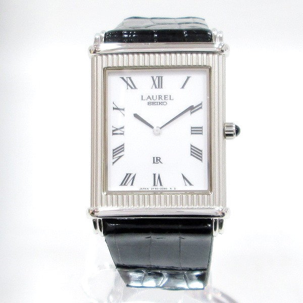 時計 セイコー ローレル 2F50-6330 レディース クォーツ ★送料無料★【中古】【あす楽】