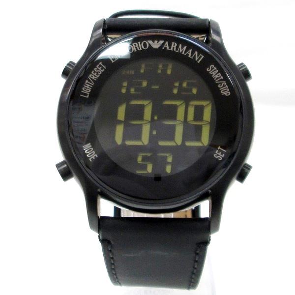 時計 エンポリオアルマーニ AR-5925 メンズ クオーツ デジタル文字盤 ★送料無料★【中古】【あす楽】