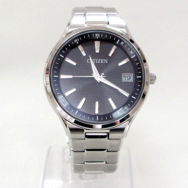時計 シチズン H110-T018360 メンズ 電波ソーラー 黒文字盤 ★送料無料★【中古】【あす楽】