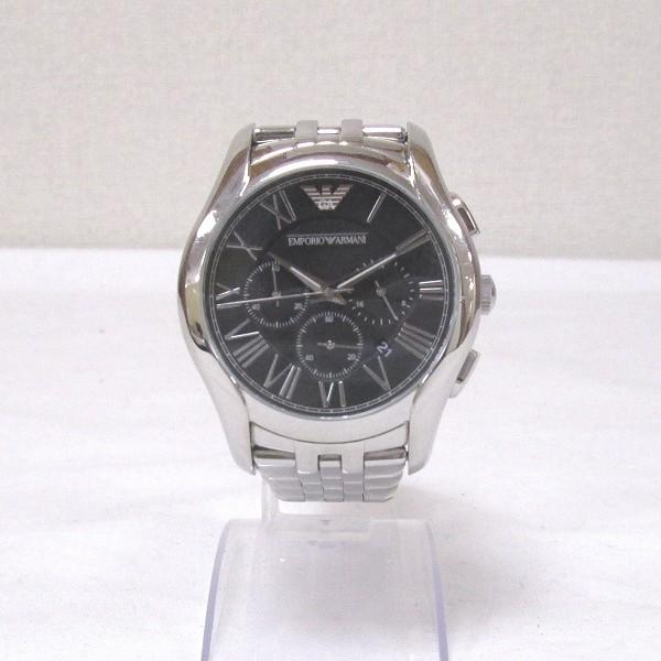 時計 エンポリオアルマーニ メンズ クロノグラフ 腕時計 AR-1786 ★送料無料★【中古】【あす楽】
