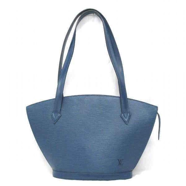 ルイヴィトン Louis Vuitton エピ サンジャック ロング ショルダーバッグ M52335 ブルー ★送料無料★【中古】【あす楽】
