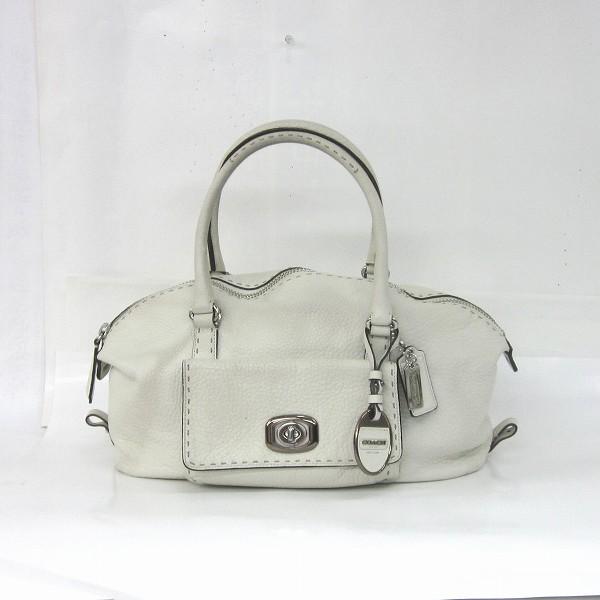 85c48f7c1003 Wonder Price: Coach COACH 18972 leather handbag (white) | Rakuten Global