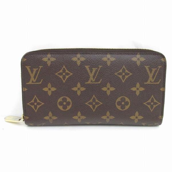 ルイヴィトン Louis Vuitton モノグラム ジッピーウォレット M60017 財布 ★送料無料★【中古】【あす楽】
