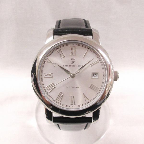時計 サマンサティアラ 腕時計 メンズ 自動巻き デイト ★送料無料★【中古】【あす楽】