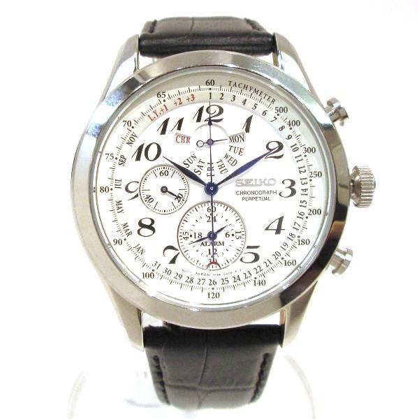 セイコー プルミエ パーペチュアル クロノグラフ 7T86 0ACD 時計 腕時計 メンズ ★送料無料★【中古】【あす楽】