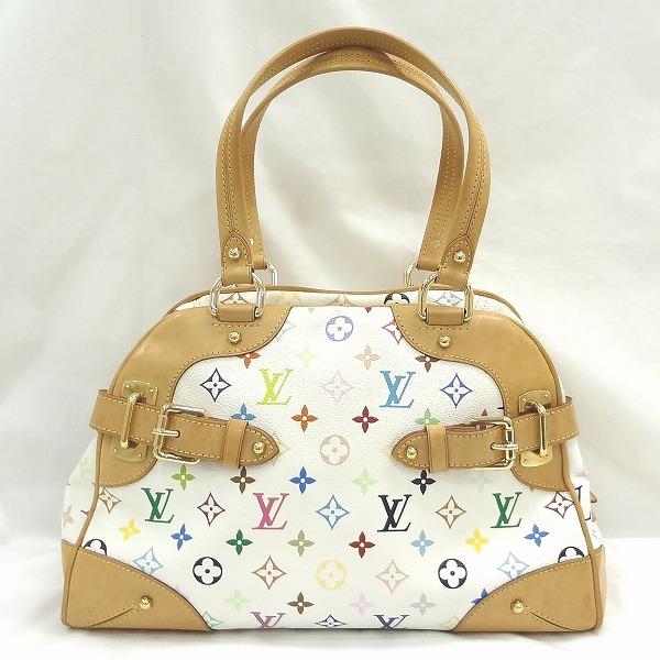 ルイヴィトン Louis Vuitton マルチカラー クラウディア ブロン ハンドバッグ M40193 ★送料無料★【中古】【あす楽】