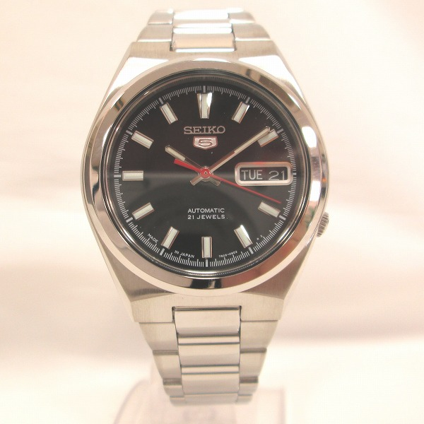 セイコー5 7S26-02S0 時計 腕時計 メンズ 自動巻き ★送料無料★【中古】【あす楽】
