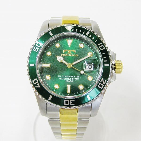 テクノス メンズクォーツ T2118 時計 腕時計 メンズ ★送料無料★【中古】【あす楽】