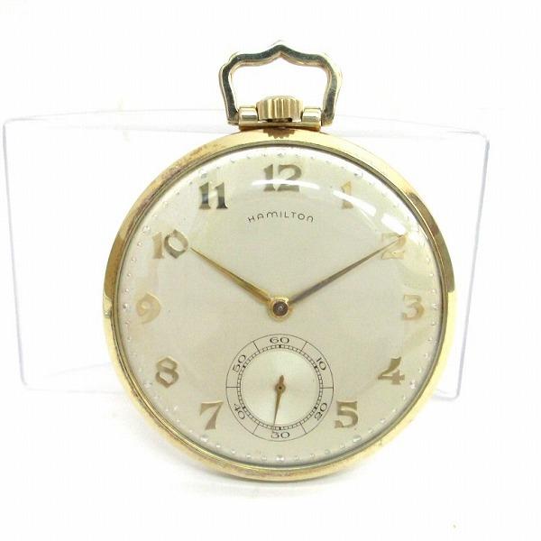 ハミルトン 時計 懐中時計 ユニセックス ★送料無料★【中古】【あす楽】