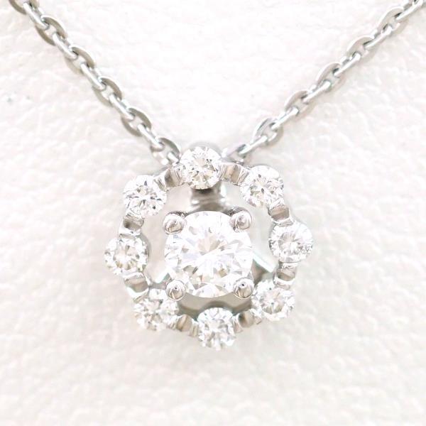 0.57ct ZPL 【ジュエリー】 K18WG 12号 ポーラ 【中古】 【POLA】 リング ダイヤモンド