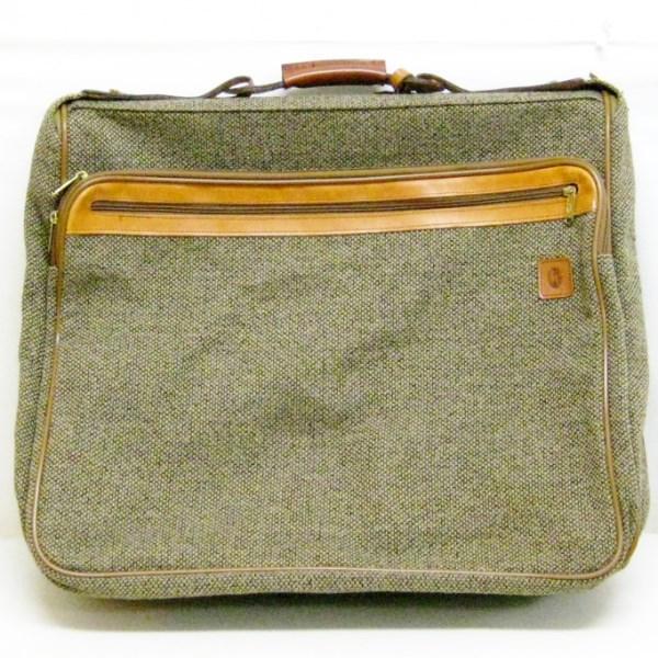 ハートマン hartmann luggage トランクケース スーツケース ツイード ACE製 ヌメ革使用 バッグ ★送料無料★【中古】【あす楽】