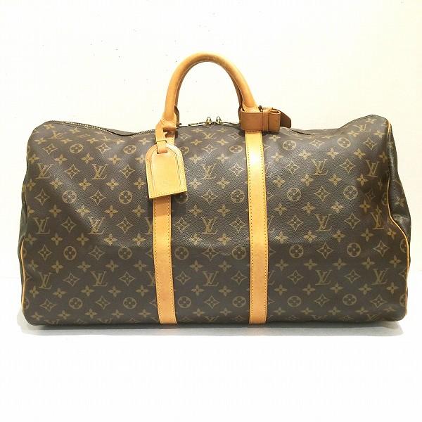 ルイヴィトン Louis Vuitton モノグラム キーポル55 ボストンバッグ ★送料無料★【中古】【あす楽】