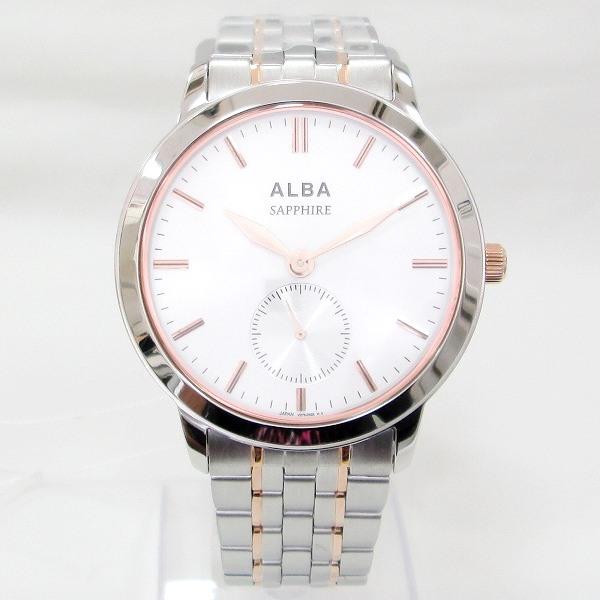 時計 セイコー アルバ AQHT001 メンズ クオーツ シルバー文字盤 未使用 ★送料無料★【中古】【あす楽】