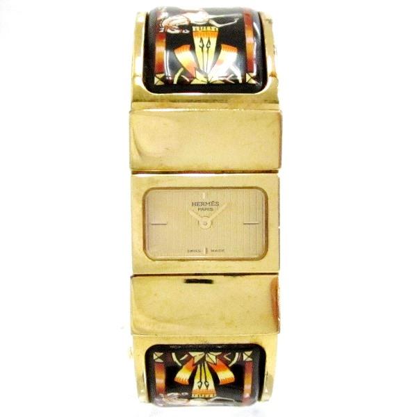 時計 エルメス Hermes ロケ LO1.201 1073*** レディース クオーツ 箱あり ★送料無料★【中古】【あす楽】