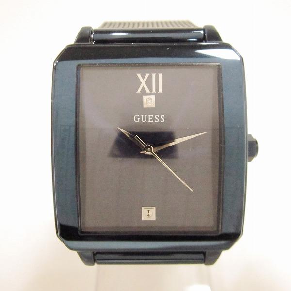 時計 GUESS U1074G2 時計 メンズ クオーツ ネイビー ★送料無料★【中古】【あす楽】
