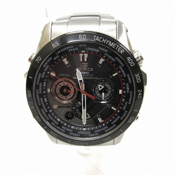 時計 カシオ EDIFICE 5061 EQW-1000D タフソーラー メンズ時計 ★送料無料★【中古】【あす楽】
