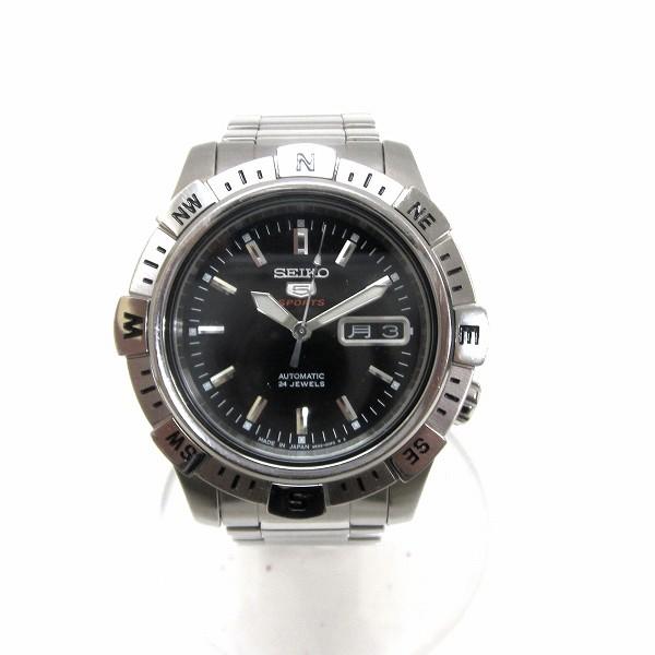 時計 SEIKO 5スポーツ メカニカル 4R36-00C0 メンズ時計 ★送料無料★【中古】【あす楽】