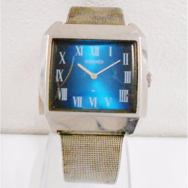 時計 セイコー 手巻き スクエア メンズ 2220-3172 ★送料無料★【中古】【あす楽】