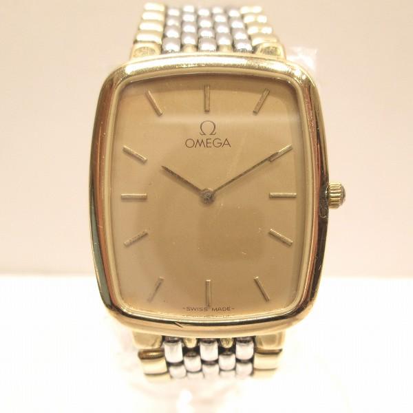 時計 オメガ デビル コンビ 時計 腕時計 メンズ ★送料無料★【中古】【あす楽】
