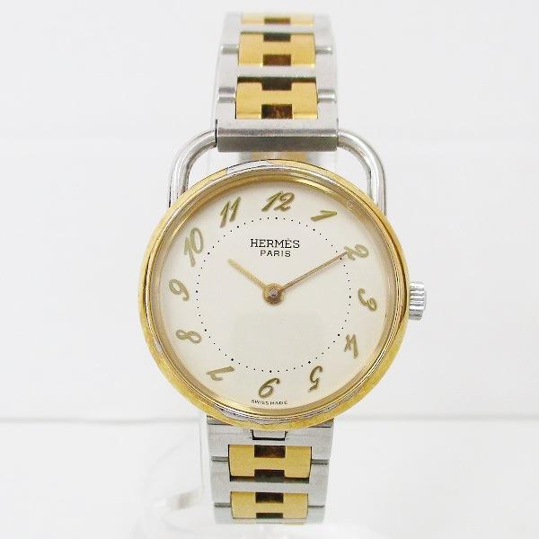 時計 エルメス Hermes アルソー コンビ クオーツ 時計 時計 腕時計 レディース ★送料無料★【中古】【あす楽】