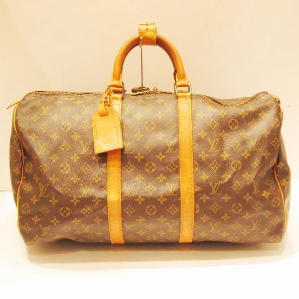 ルイヴィトン Louis Vuitton モノグラム キーポル50 旅行バッグ M41426 ★送料無料★【中古】【あす楽】