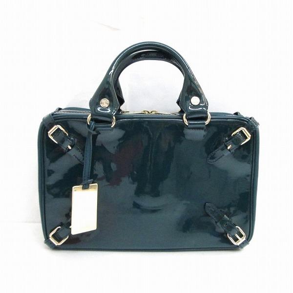 セリーヌ CELINE エナメルバッグ ミニショルダーバッグ付き ★送料無料★【中古】【あす楽】