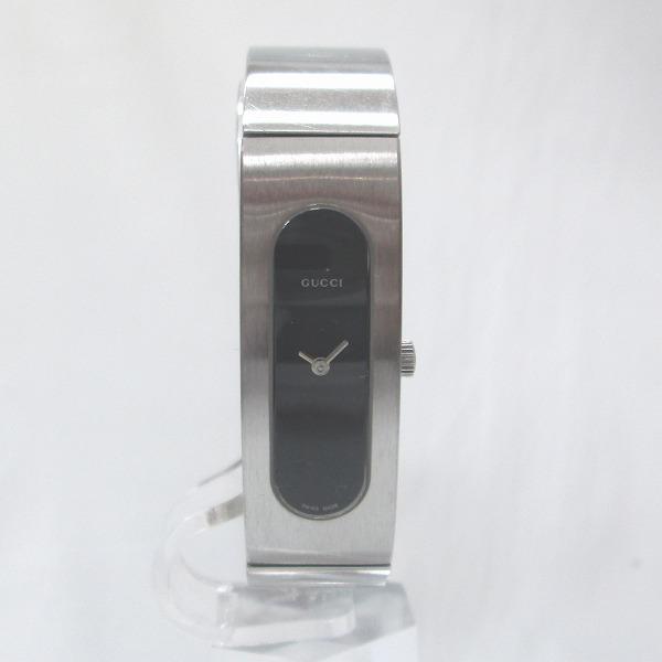 時計 グッチ GUCCI 2400S 時計 腕時計 レディース クオーツ 黒文字盤 ★送料無料★【中古】【あす楽】
