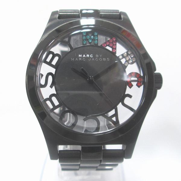 時計 マークバイマークジェイコブス MBM3265 時計 腕時計 レディース クオーツ 黒文字盤 ★送料無料★【中古】【あす楽】